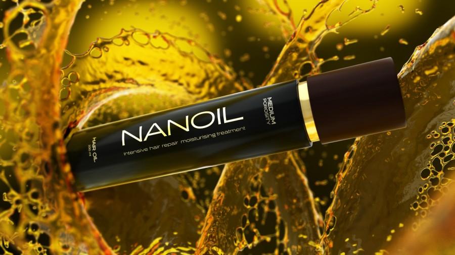 Haarprobleme - Greifen Sie nach Haaröl Nanoil
