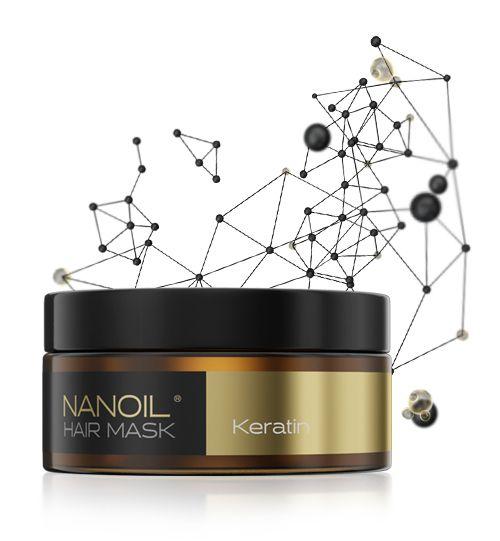Beste Haarmaske mit Keratin Nanoil
